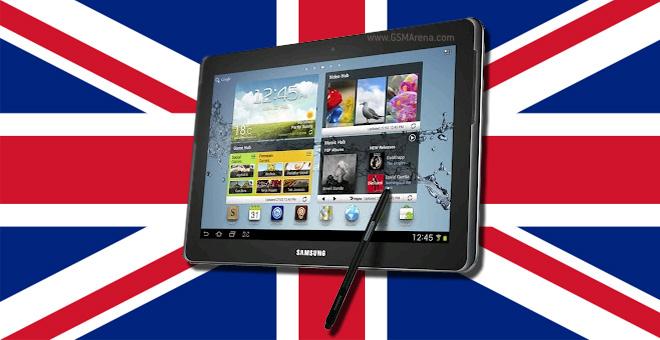 Samsung Galaxy Note 10.1 arriva in Inghilterra tra pochi giorni