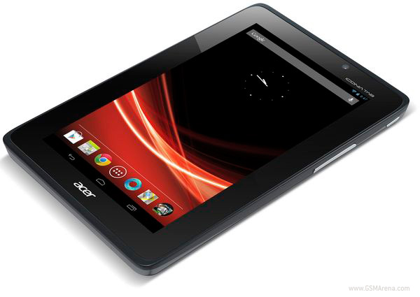 Acer Iconia Tab A110 si mostra con Android 4.1 Jelly Bean