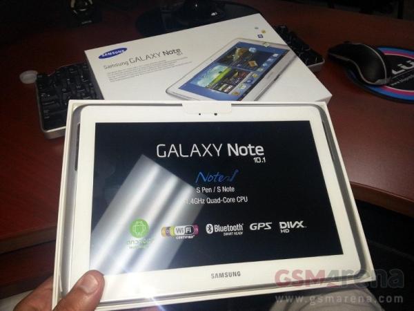 Samsung Galaxy Note 10.1 già inviato ad alcuni negozi