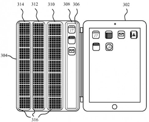 Apple brevetta le Smart Cover per iPad con tastiera integrata
