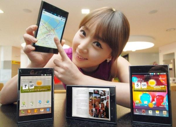 LG Optimus Vu: presto in Italia al prezzo di 499 euro