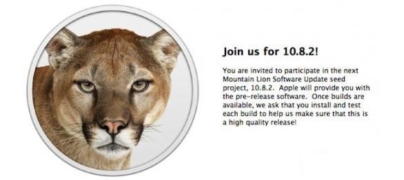 Apple OS X 10.8.2 Mountain Lion: già pronta la prima Beta
