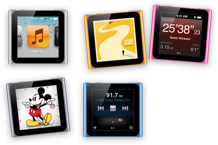 Il nuovo iPod Nano potrebbe supportare la connettività Bluetooth 4.0
