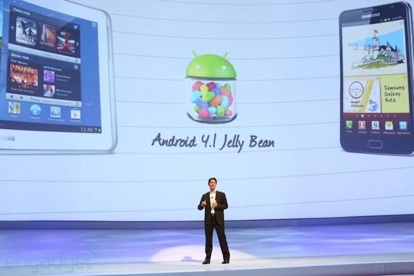 Samsung Galaxy Note 10.1: molto presto l'aggiornamento ad Android 4.1 Jelly Bean
