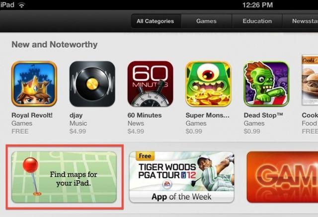 Mappe di iOS 6: creata nell'App Store la sezione sulle applicazioni alternative
