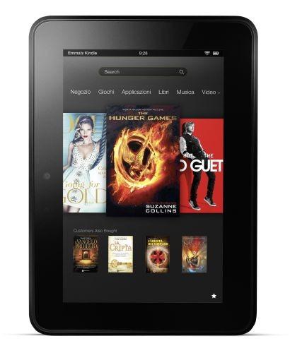 Amazon Kindle Fire HD: scheda tecnica e prezzo in Italia