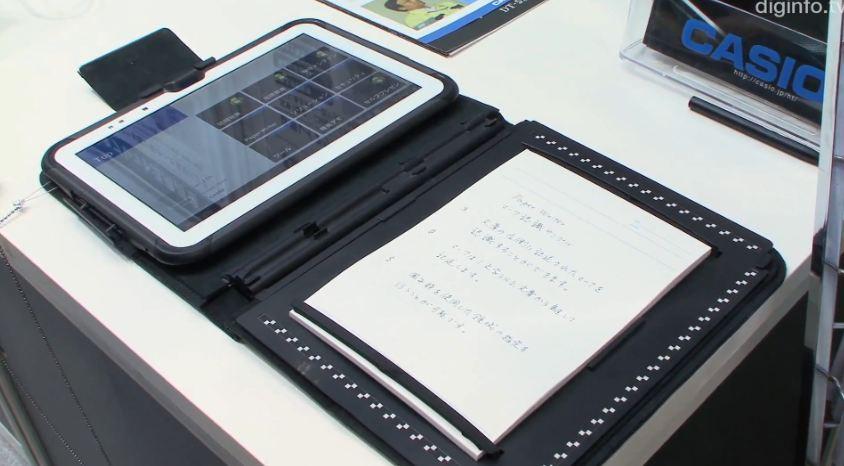 Casio Paper Writer 10.1: nuovo tablet rugged che funziona anche da scanner