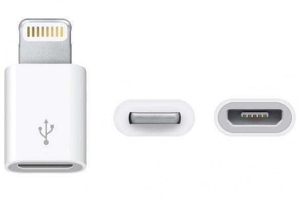 L'adattatore Lightning - Micro USB in vendita solo in Europa