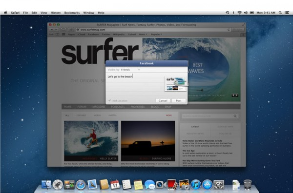 Apple OS X 10.8.2: disponibile agli sviluppatori una nuova Build