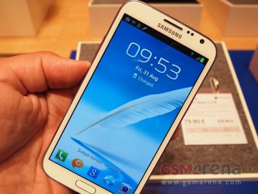 Samsung Galaxy Note 2: immagini della versione 4G LTE