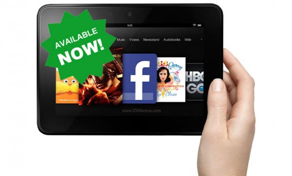 Amazon Kindle Fire HD disponibile per la vendita negli USA