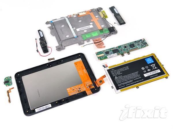 Amazon Kindle Fire HD 7 smontato da iFixit