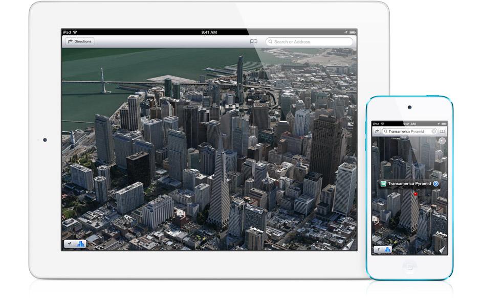 Apple vuole migliorare l'app Mappe con ex impiegati di Google