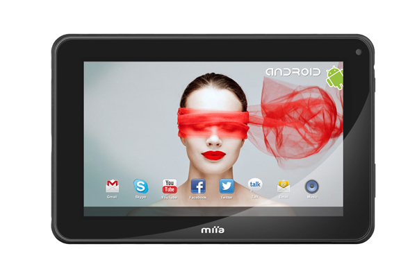 Miia Touch Tab7: nuovo tablet Android tutto italiano