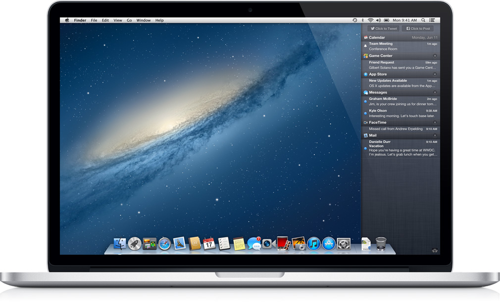 Apple OS X 10.8.2 Mountain Lion disponibile per il download pubblico
