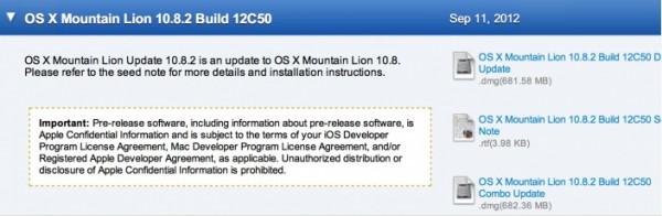 Apple OS X 10.8.2: distribuita agli sviluppatori la versione quasi definitiva