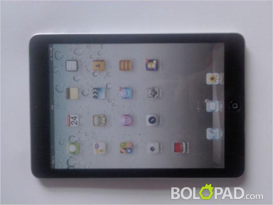 Apple iPad Mini: nuova immagine con scocca nera