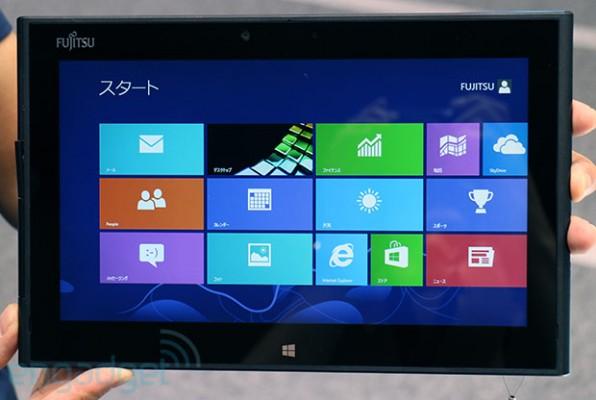 Fujitsu Arrows Tab: nuovo tablet PC basato su Windows 8