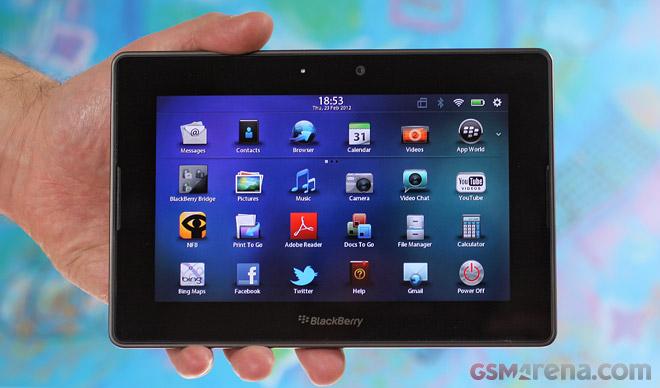 BlackBerry PlayBook riceve tante funzioni inedite con l'aggiornamento 2.1