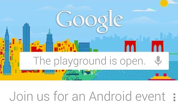 Google: evento stampa il 29 Ottobre focalizzato su Android