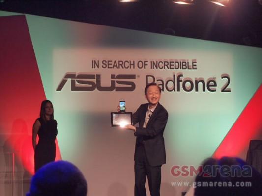 ASUS Padfone 2 presentato ufficialmente a Milano, ecco le caratteristiche tecniche