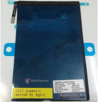Apple iPad Mini: ecco l'immagine della batteria al litio