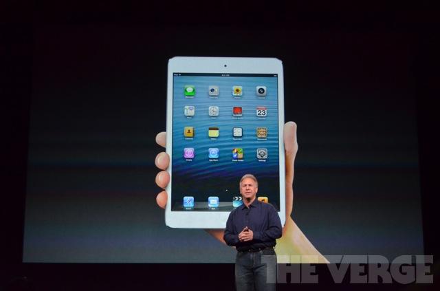 Apple annuncia l'iPad mini e l'iPad di quarta generazione