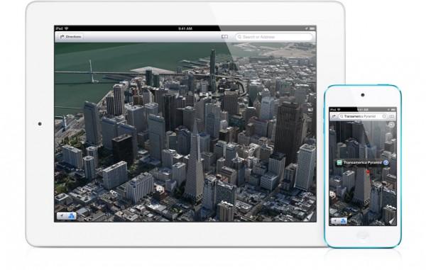 Mappe di iOS 6: soltanto 1 utente su 25 le usa