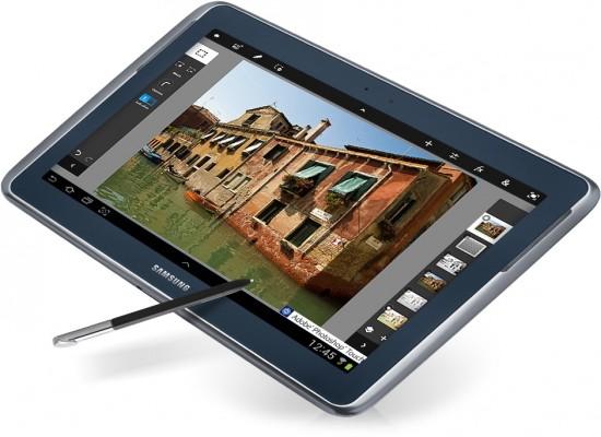 Samsung Galaxy Note 10.1 presentato in Italia, prezzo di vendita 599 euro