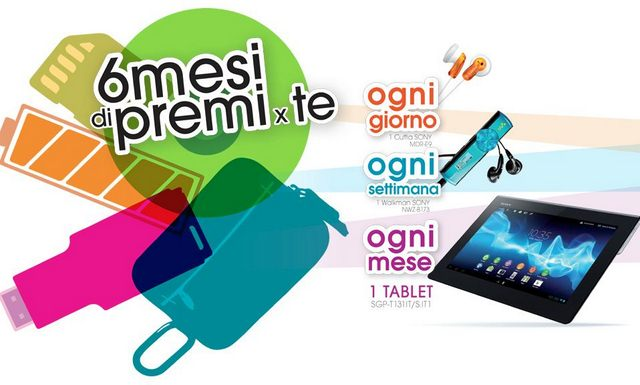 Xperia Tablet S: nuovo concorso da Sony Italia