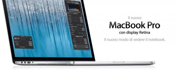 Apple Macbook Pro Retina da 13 pollici: nuovo design della batteria