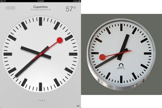 Apple e Ferrovie Federali Svizzere: raggiunto l'accordo sull'orologio di iOS 6