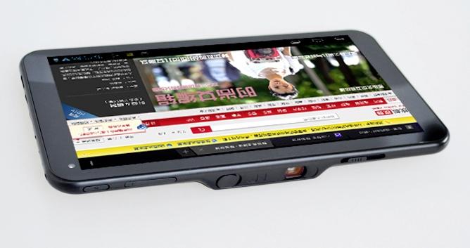 SmartQ U7: nuovo tablet Android con picoproiettore integrato