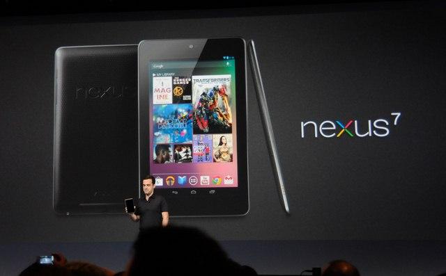 5 milioni di Google Nexus 7 spediti entro la fine del 2012