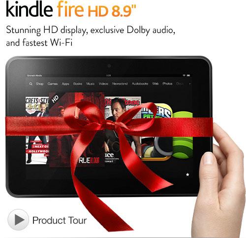 Amazon Kindle Fire HD: arriva negli USA la versione da 8.9 pollici