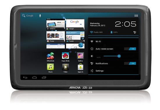 Archos Arnova 10C G3 e 10D G3: nuovi tablet Android economici