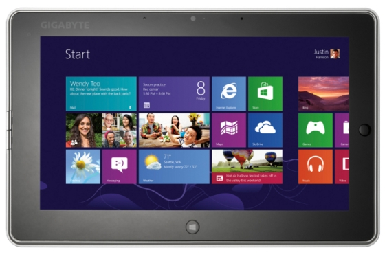 Gigabyte S1082: nuovo tablet Windows 8 con processore Intel Celeron