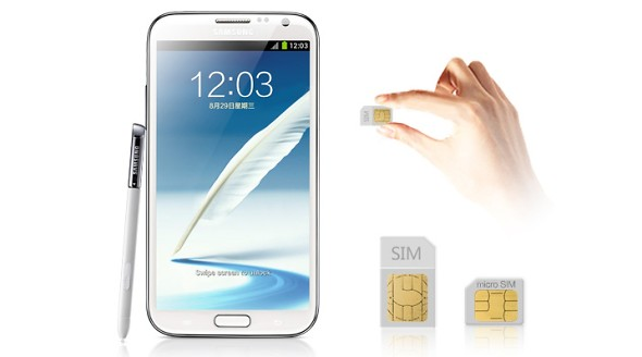 Samsung Galaxy Note 2 Dual SIM disponibile per la vendita in Cina