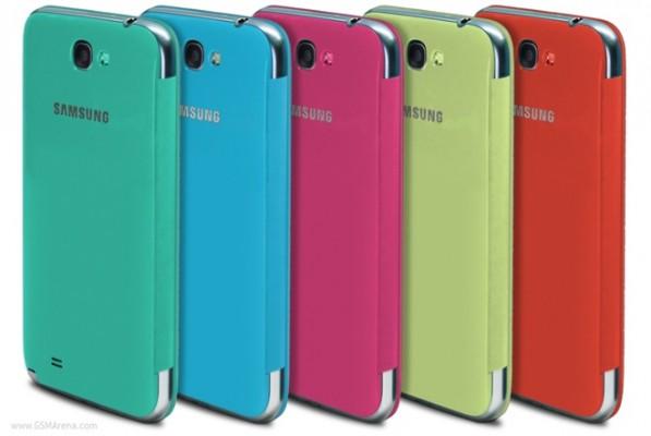 Samsung Galaxy Note 2: ufficiali le nuove Flip Cover