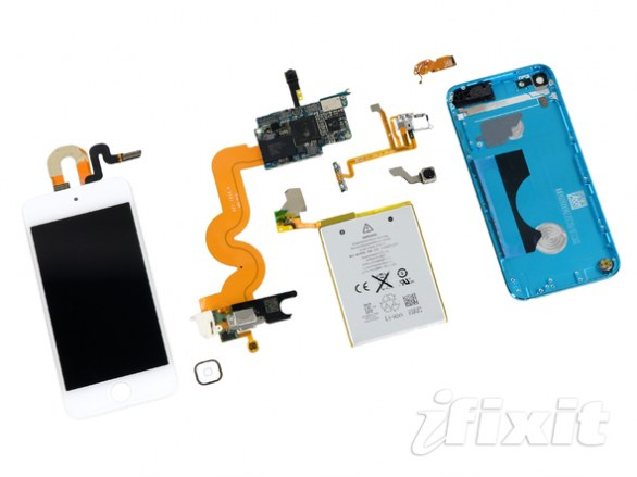 Apple iPod Touch di quinta generazione: ecco com'è fatto dentro