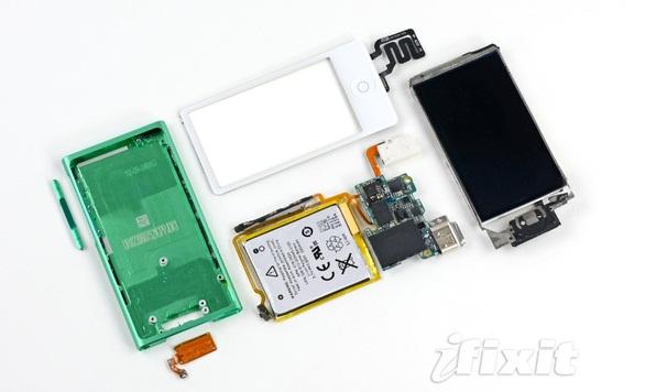 Nuovo iPod Nano 7G smontato pezzo per pezzo da iFixit