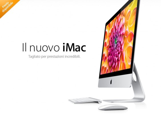 I nuovi iMac di Apple disponibili dal 30 Novembre