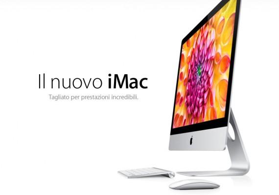 I nuovi iMac finalmente disponibili per la vendita in Italia
