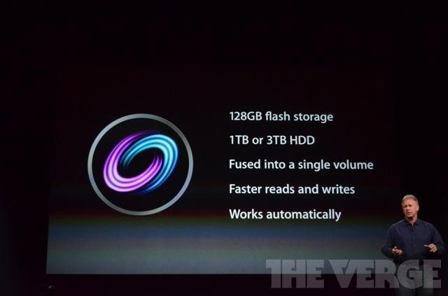 Fusion Drive: spiegazione dettagliata sul suo funzionamento