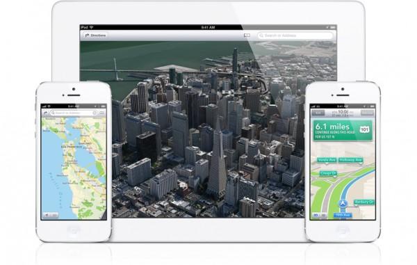 Le nuove Mappe di iOS 6 consumano meno dati rispetto Google Maps