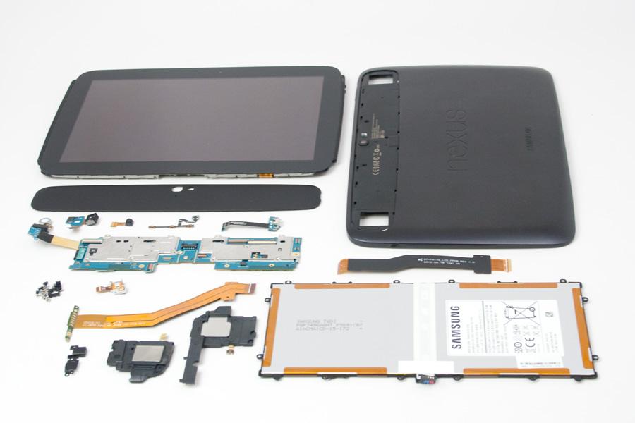 Samsung Nexus 10: ecco com'è fatto dentro