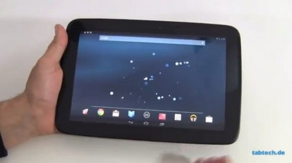 Samsung Nexus 10: primo video di unboxing