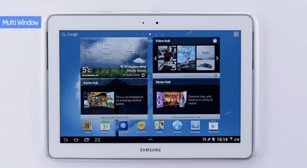 Samsung Galaxy Note 10.1: video delle novità della Premium Suite