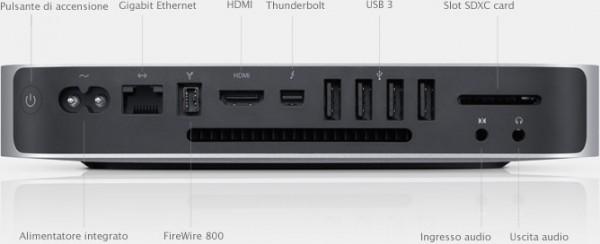 Il nuovo Mac Mini supporta nativamente il WiFi a 450 Mb/s