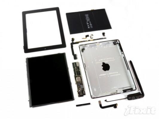 I ragazzi di iFixit smontano l'iPad di quarta generazione